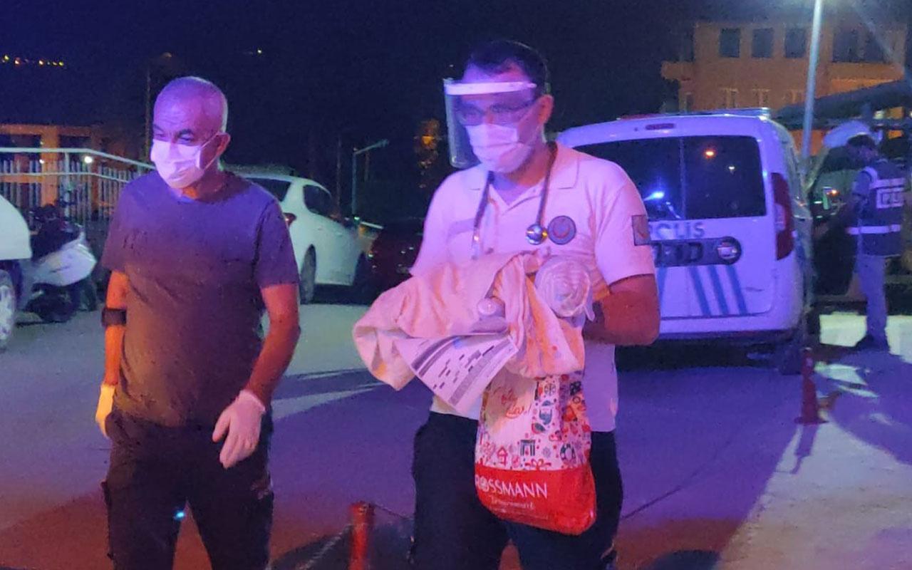 Bursa'da vicdansızlar 3 günlük bebeği ölüme terk etti