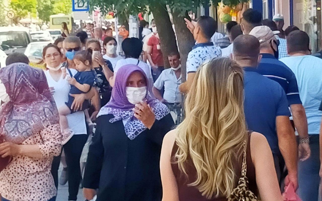 Edirne'de korona paniği! Taksi şoförünün testi pozitif çıktı