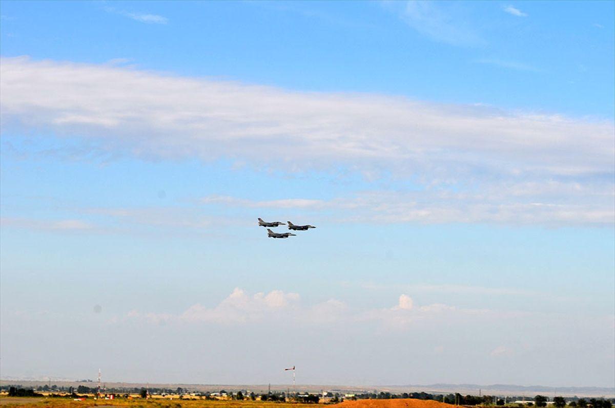 TürkF-16'ları Azerbaycan'da! Ermenistan'ın gözünü korkuttular