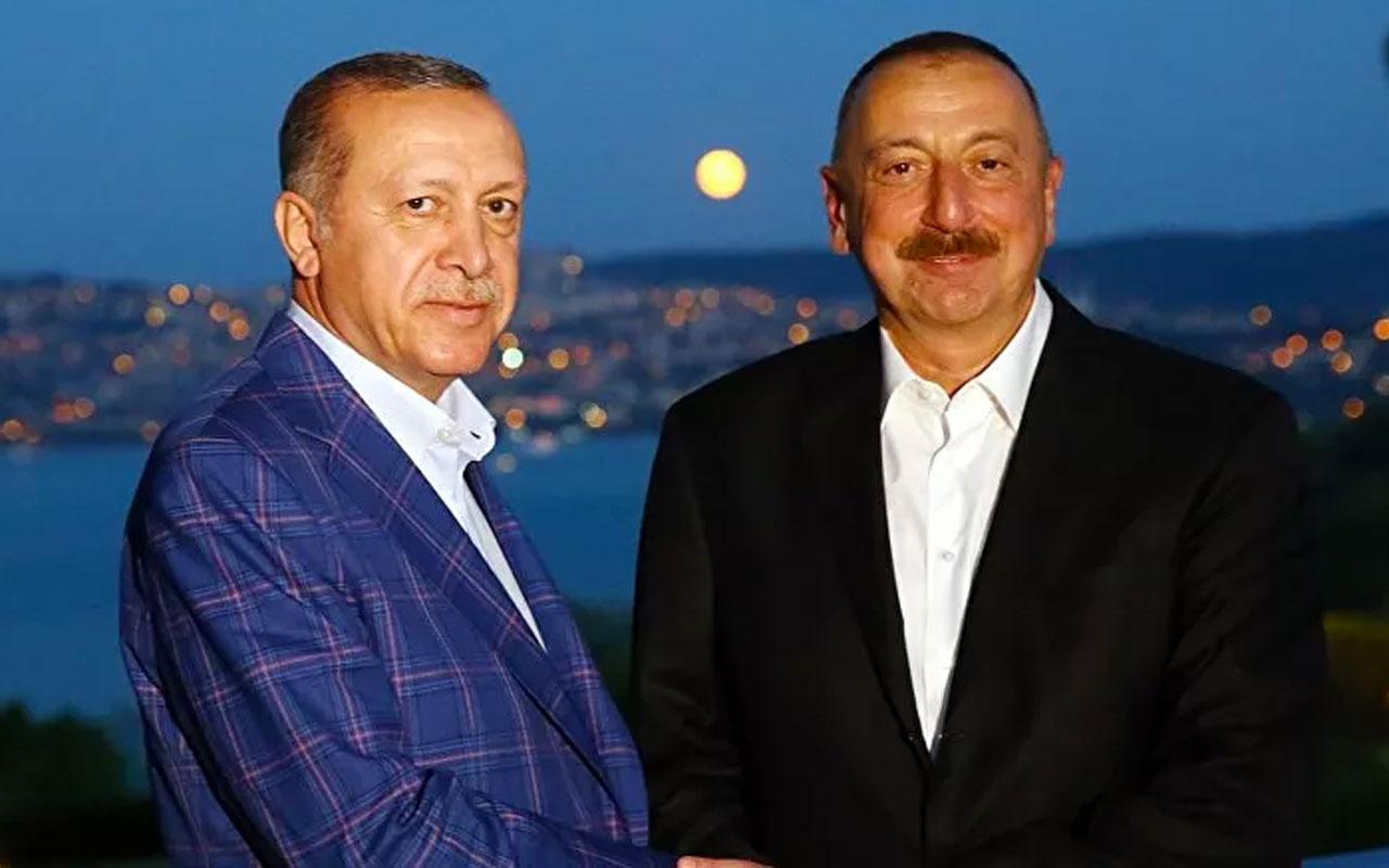 Cumhurbaşkanı Erdoğan ile Azerbaycan Cumhurbaşkanı Aliyev telefonla görüştü