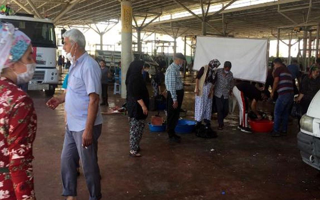 Gaziantep'te kurban derisi kavgası! Yaralılar var