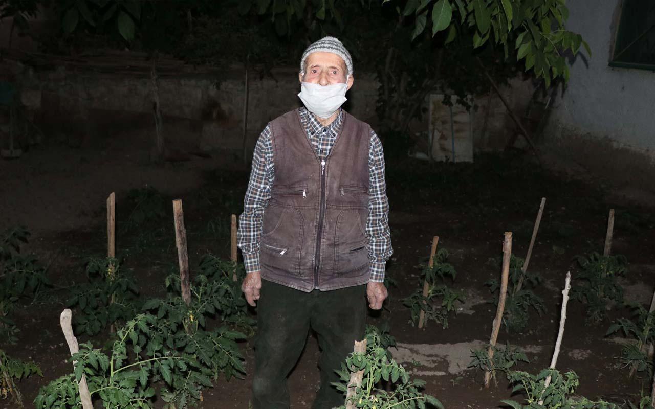 Kayseri'de koronavirüsle savaştı 90 yaşında sağlığına kavuştu