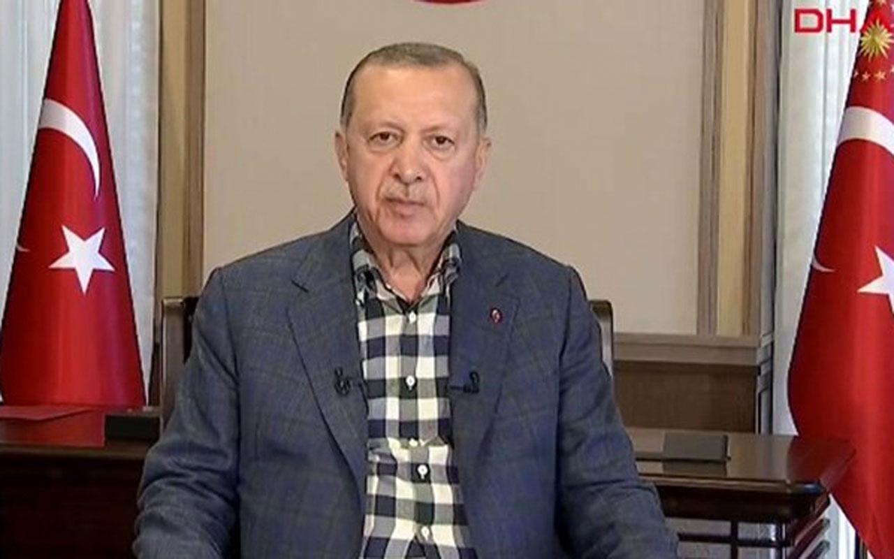 Cumhurbaşkanı Erdoğan'dan 'hilafet' açıklaması! Ayasofya'yı gölgelemek için art niyetli