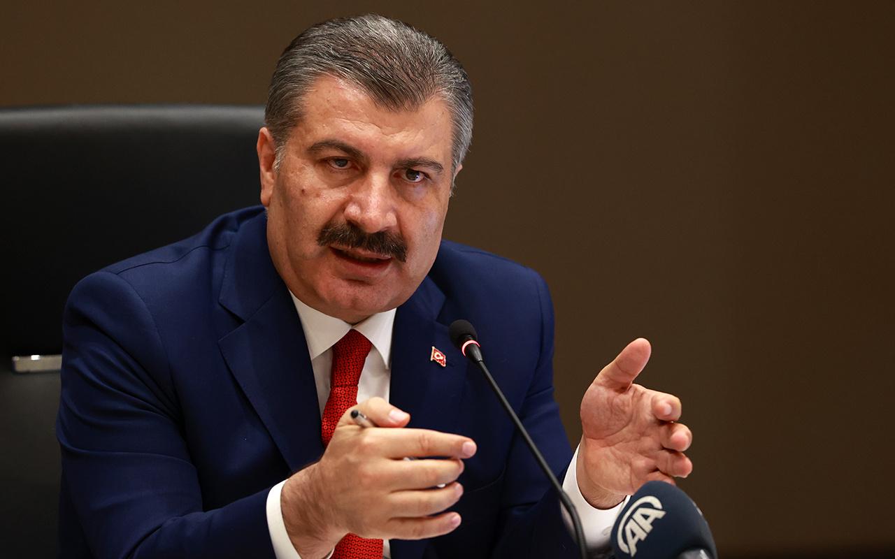 Sağlık Bakanı Fahrettin Koca son hafta vakalarda artış ve azalış olan illeri duyurdu