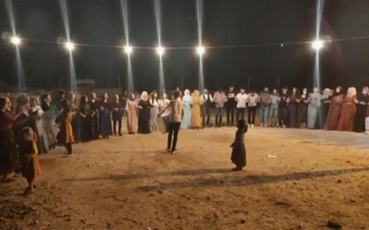 Mardin'de maskesiz ve sosyal mesafesiz 3 gün süren düğün