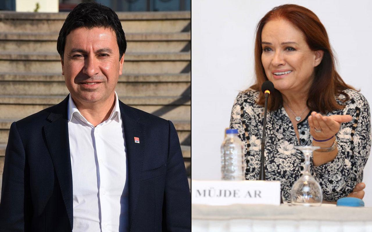 Müjde Ar'dan Bodrum Belediye Başkanı Ahmet Aras'a dava