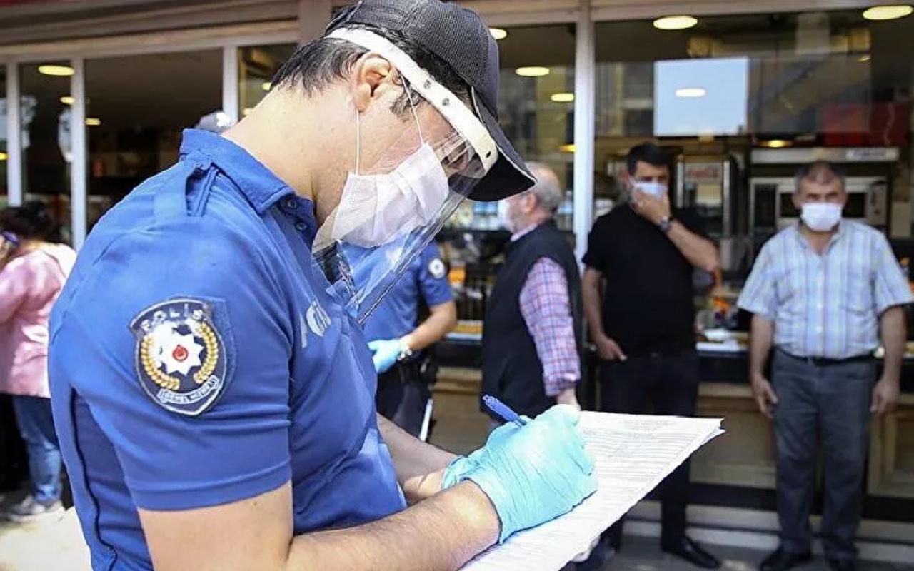 Gaziantep'te bir günde 2 bin 768 kişiye koronavirüs cezası