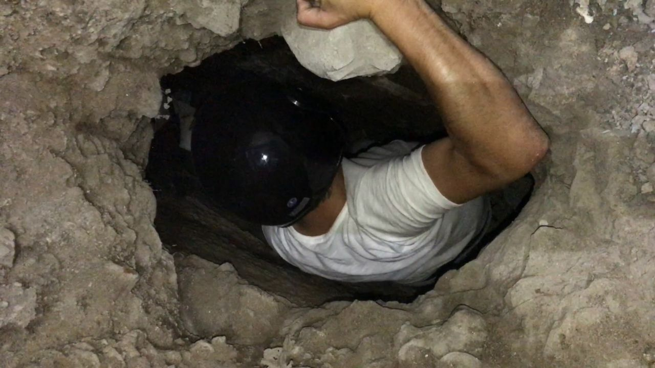 Sinop'ta gizemli bir tünel daha bulundu kentin farklı yönlerine gidiyor