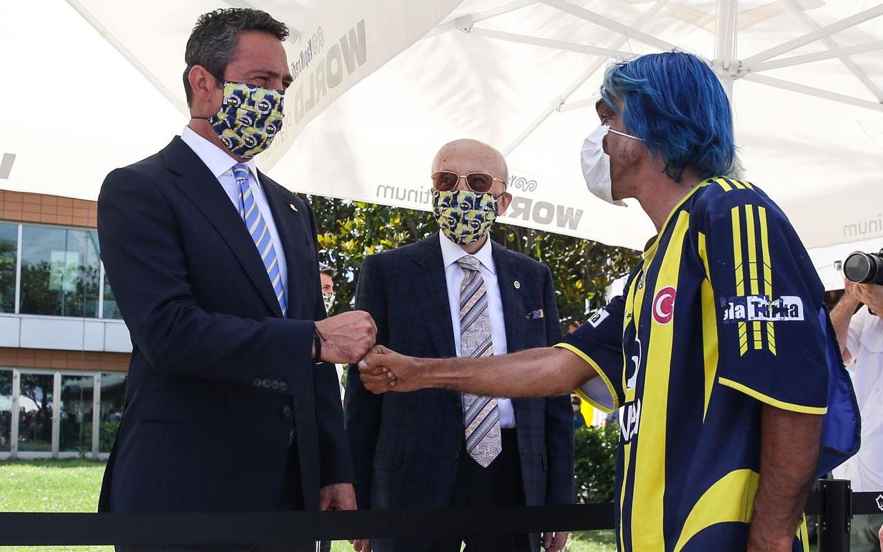 Fenerbahçe'de bayramlaşma töreni yapıldı