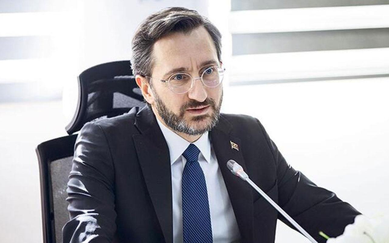 İletişim Başkanı Fahrettin Altun'dan 'Kardeşlik' paylaşımı