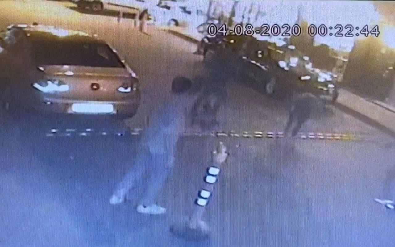 Kağıthane'de bir kişi husumetlisi ve kardeşine kurşun yağdırdı! O anlar kamerada