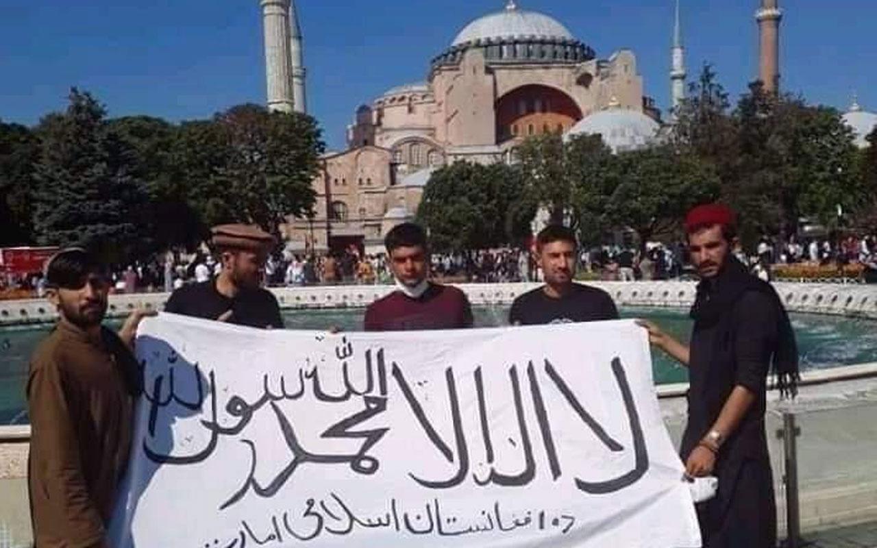 Ayasofya'da Taliban provokasyonu! Afganistan'dan çağrı geldi