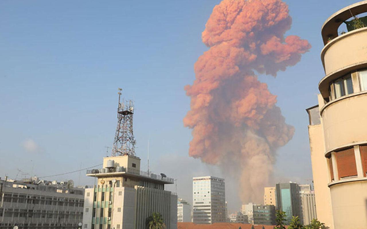 Lübnan'ın başkenti Beyrut'ta büyük patlama oldu