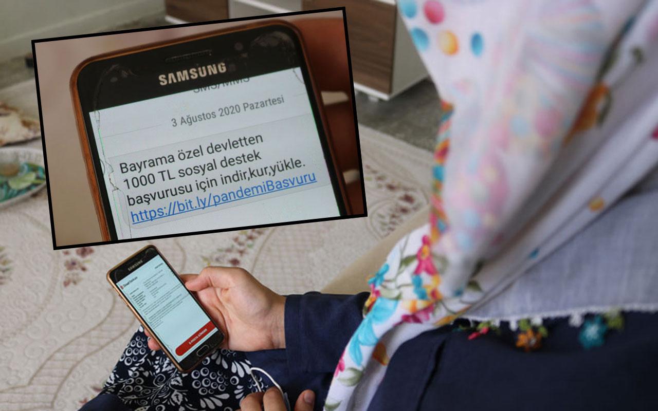 Diyarbakır'da telefonuna gelen 'bayram yardımı' linkini tıkladı bütün parasından oldu