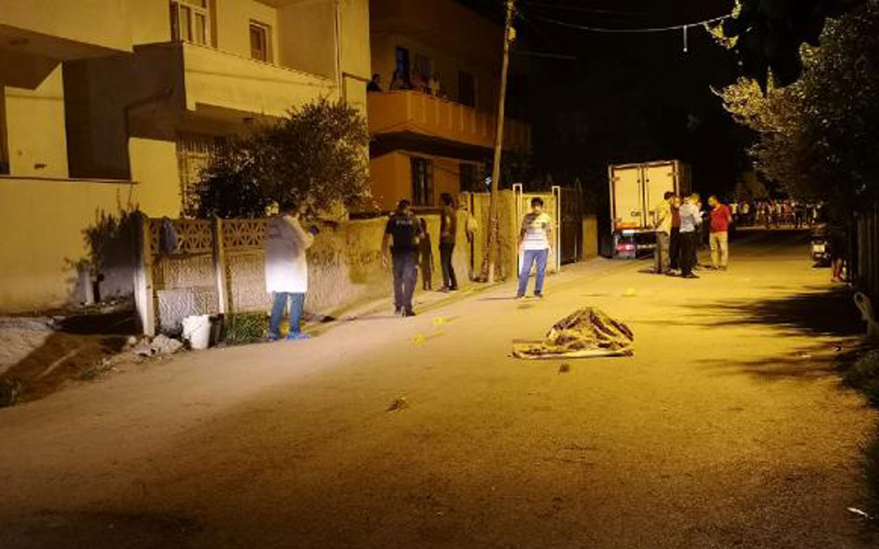 Mersin Tarsus'ta tartıştığı babasını kurşun yağmuruna tutup öldürdü