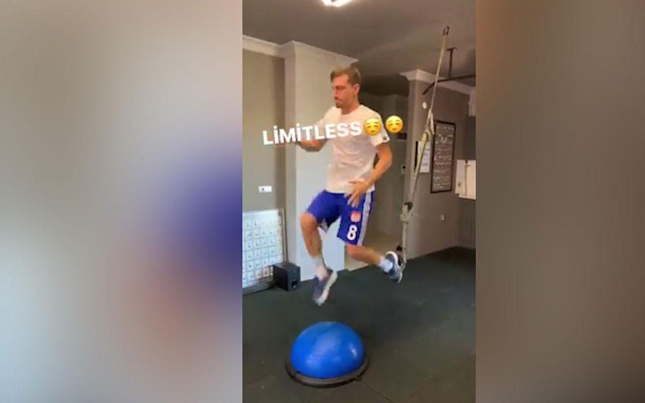 Futbolcu Mert Hakan Yandaş'tan TFF'ye limit göndermesi