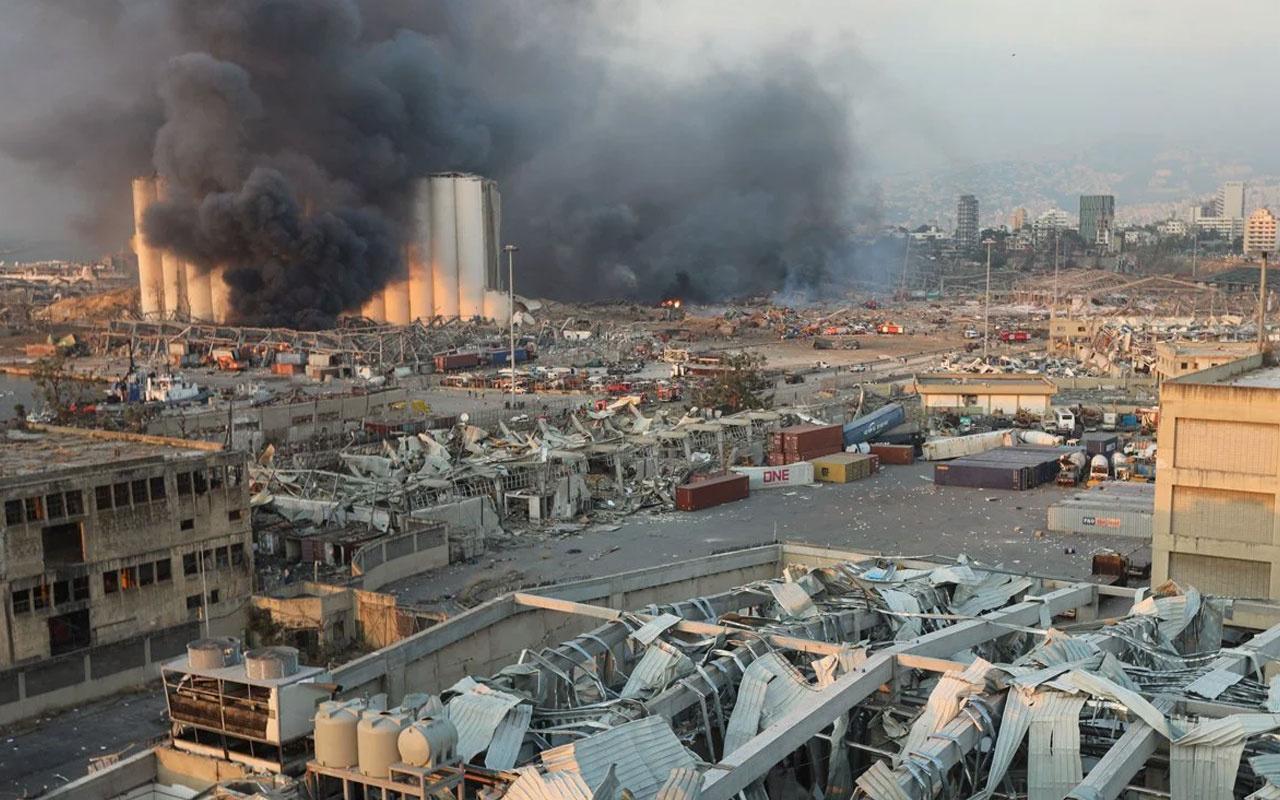Beyrut patlamasını terör örgütü DEAŞ üstlendi