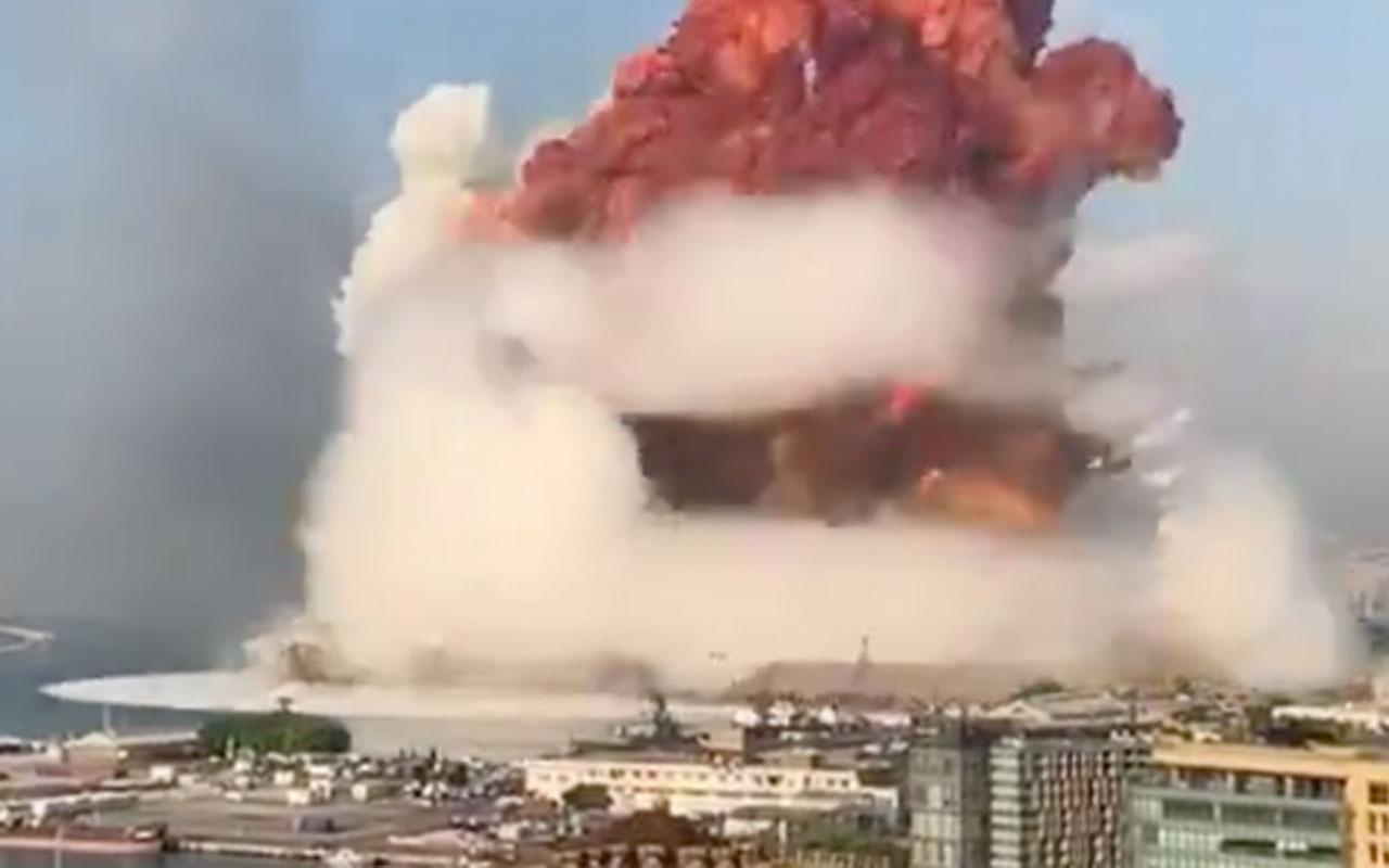 Beyrut'taki patlamayla ilgili alçak sözler: Muhteşem bir havai fişek gösterisi seyrettik