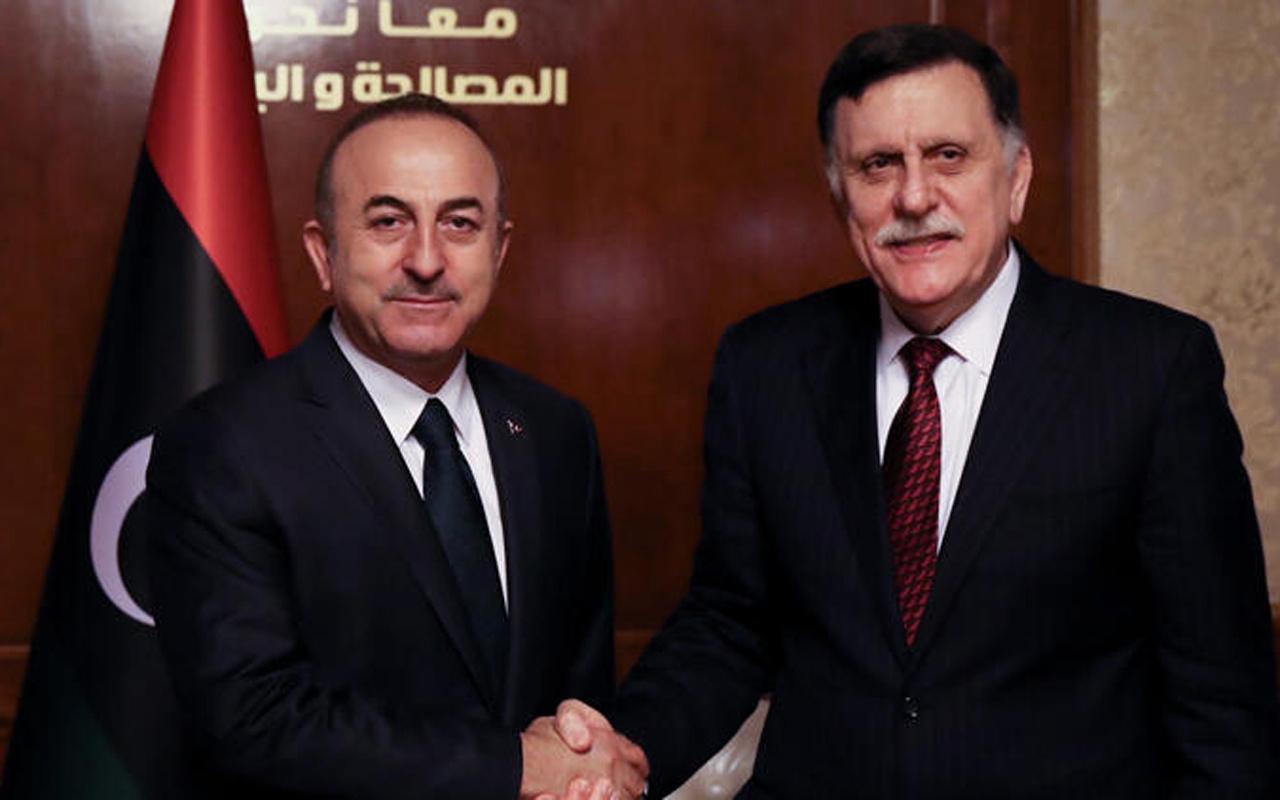 Bakan Çavuşoğlu Libya'da konuştu! Hafter saldırılarına yeniden başlayabilir