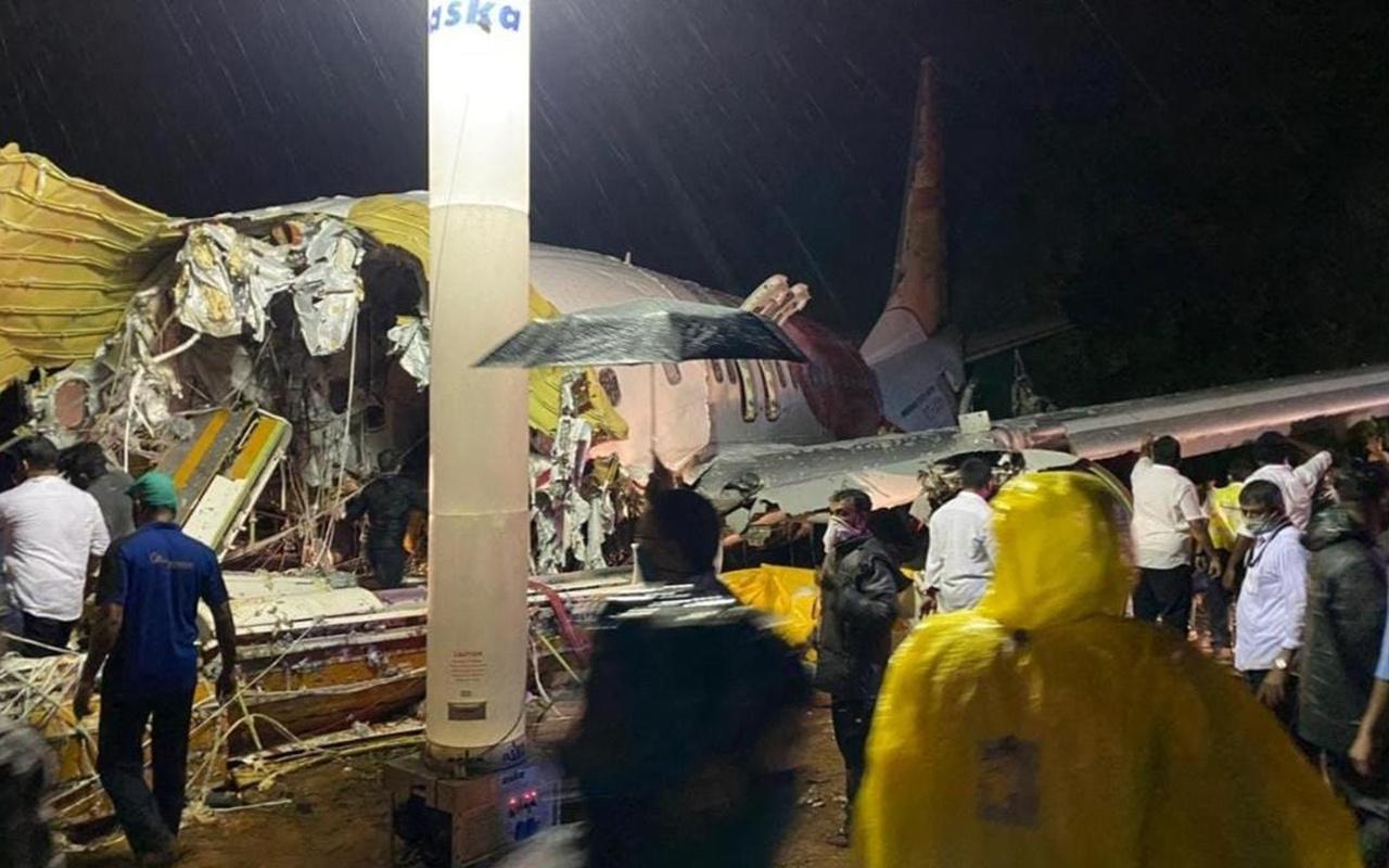 Hindistan'da uçak kazası Çok sayıda ölü ve yaralı var