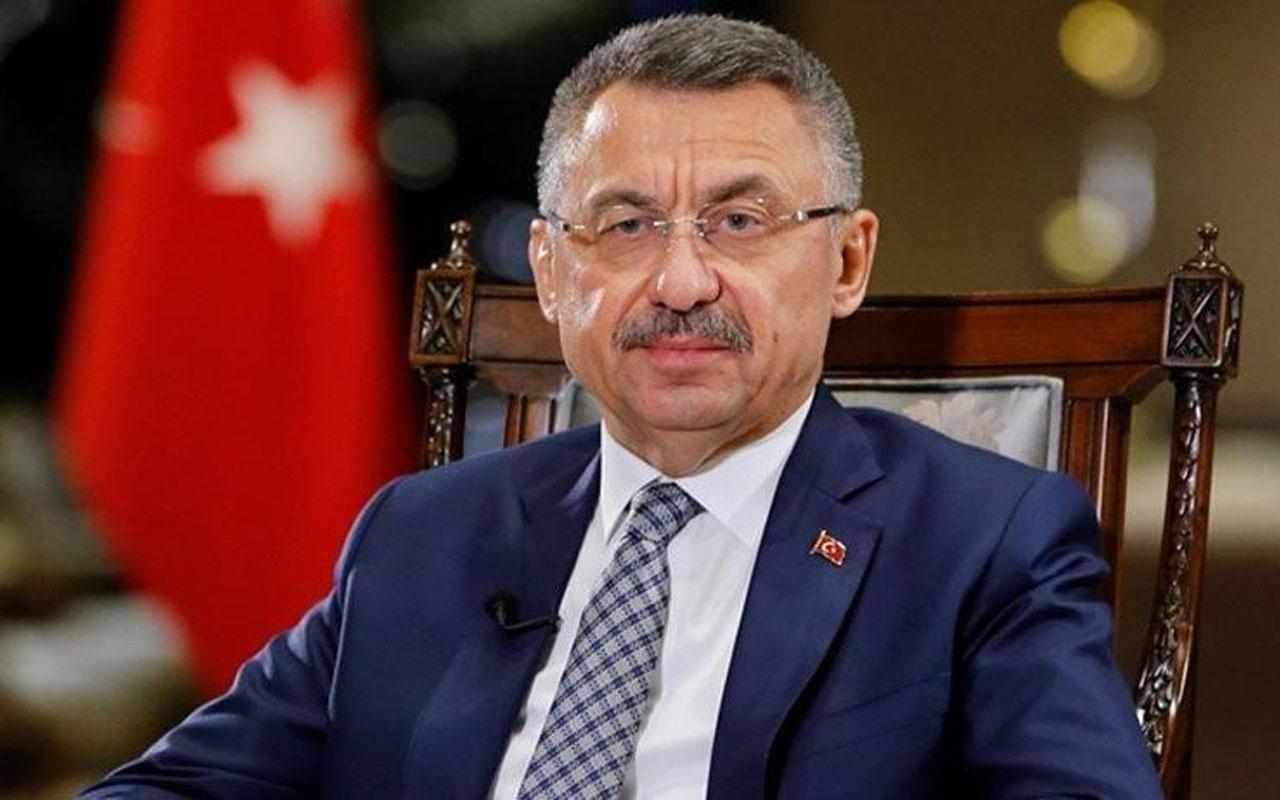 Cumhurbaşkanı Yardımcısı  Fuat Oktay'dan Berdimuhamedov'a başsağlığı mesajı