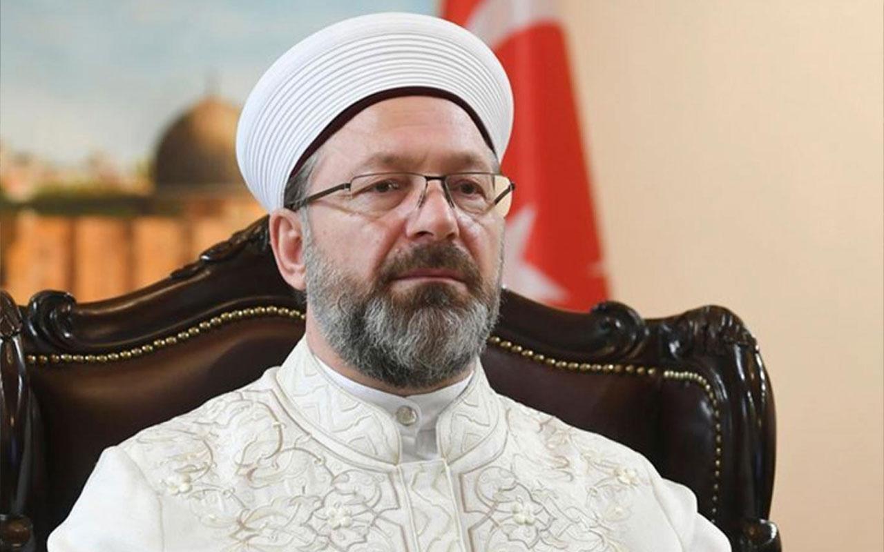 Diyanet İşleri Başkanı Ali Erbaş'ın amcası Abdullah Erbaş vefat etti