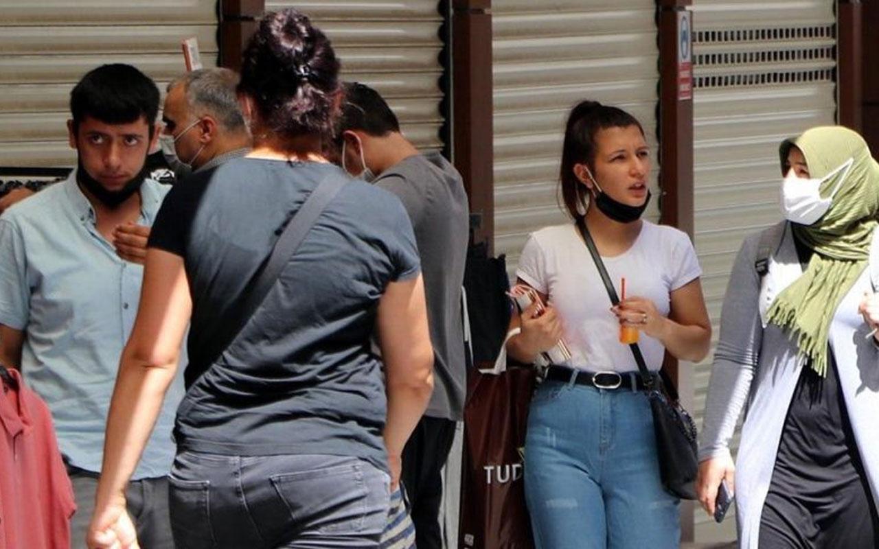 Gaziantep'te Kovid-19 tedbirlerine uymayan 2 bin 468 kişiye ceza