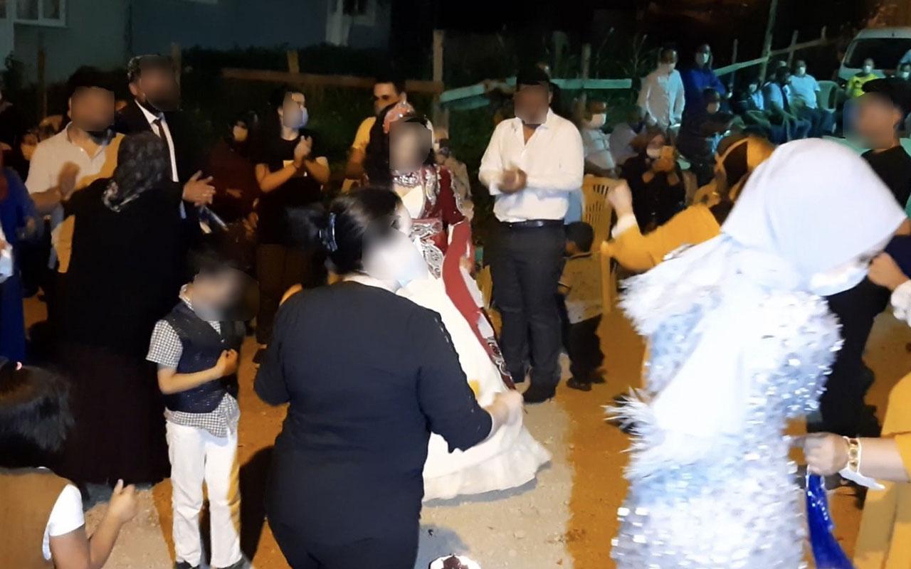 Olay yeri Bursa! Gelinin annesi 'duyulursa düğüne gelmezler' dedi herkese korona bulaştırdı