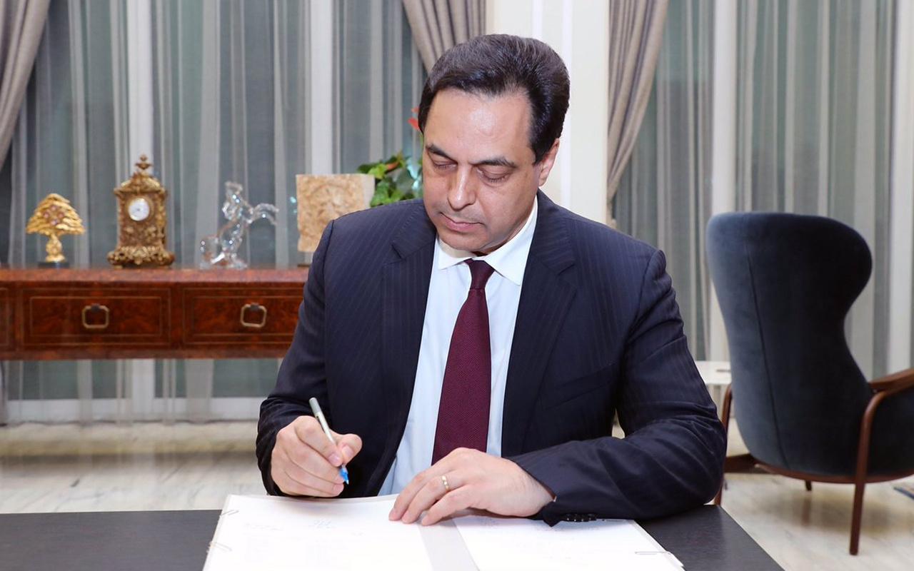 Lübnan'da bu kez istifa patlaması! 5 bakandan sonra başbakan da istifa etti
