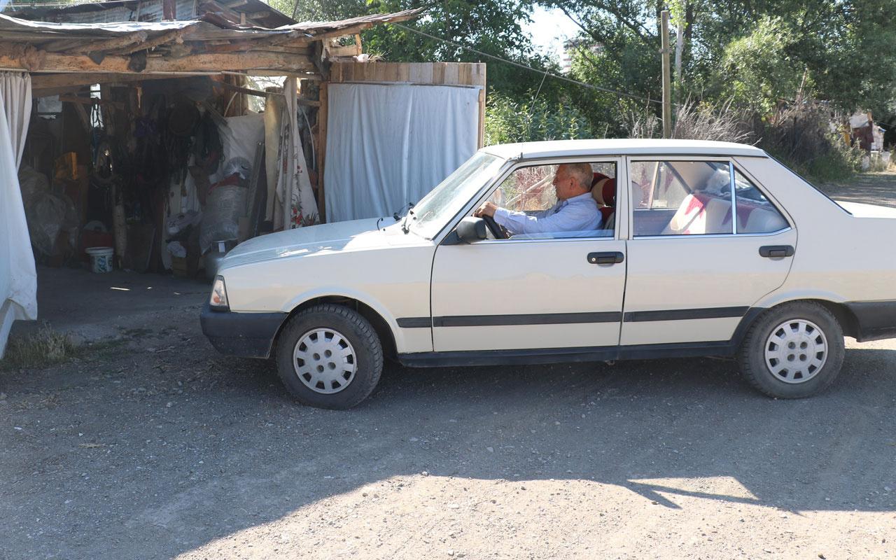 1992 model 12 bin kilometrede değişensiz Şahin'e gelen çılgın teklifleri geri çeviriyor