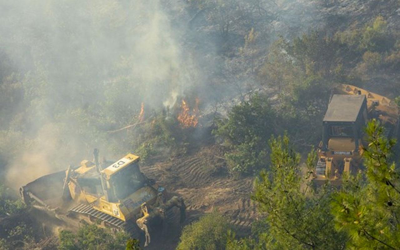 İzmir'deki yangının nedeni belli oldu