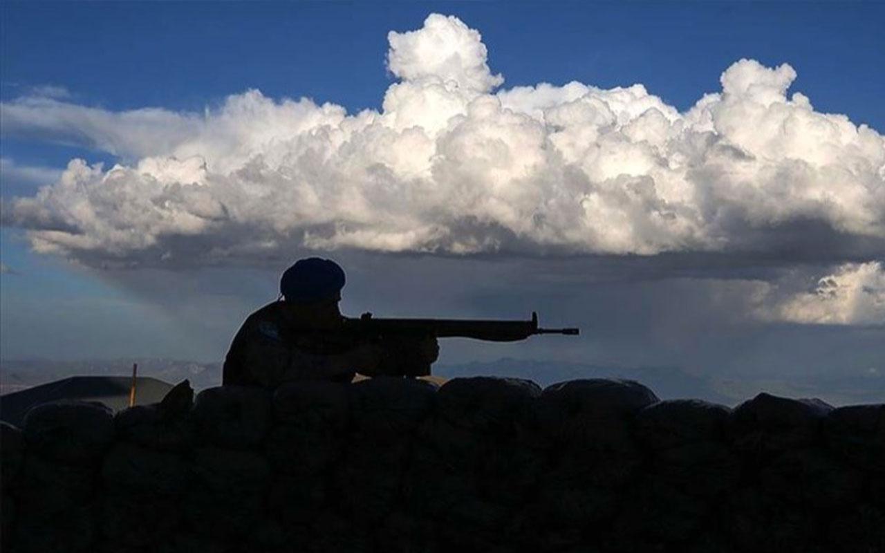 Bakanlık duyurdu! Van-Çatak kırsalında 2 terörist öldürüldü