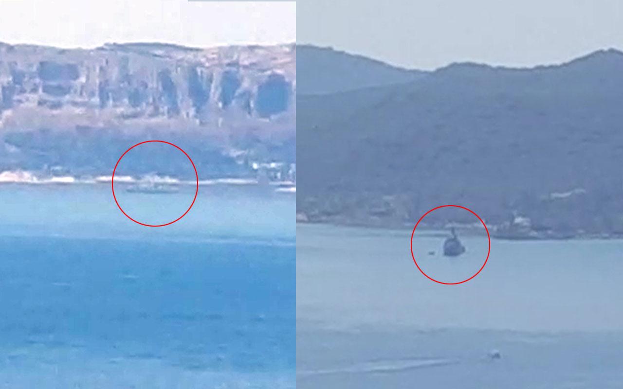 Ege'de yüksek tansiyon! Türk hücumbotu Kaş'a, Yunan hücumbotu Meis Adası'na yanaştı
