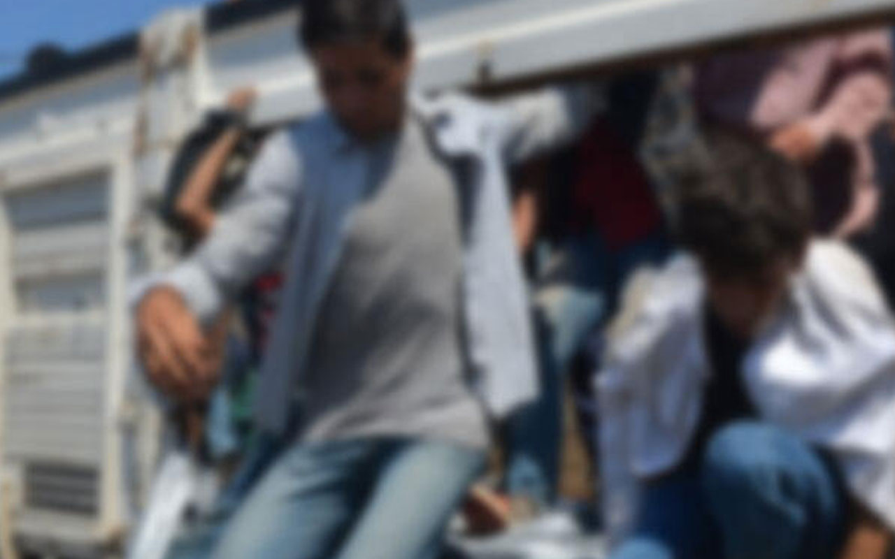Bitlis'te minibüsten 46 kaçak göçmen çıktı