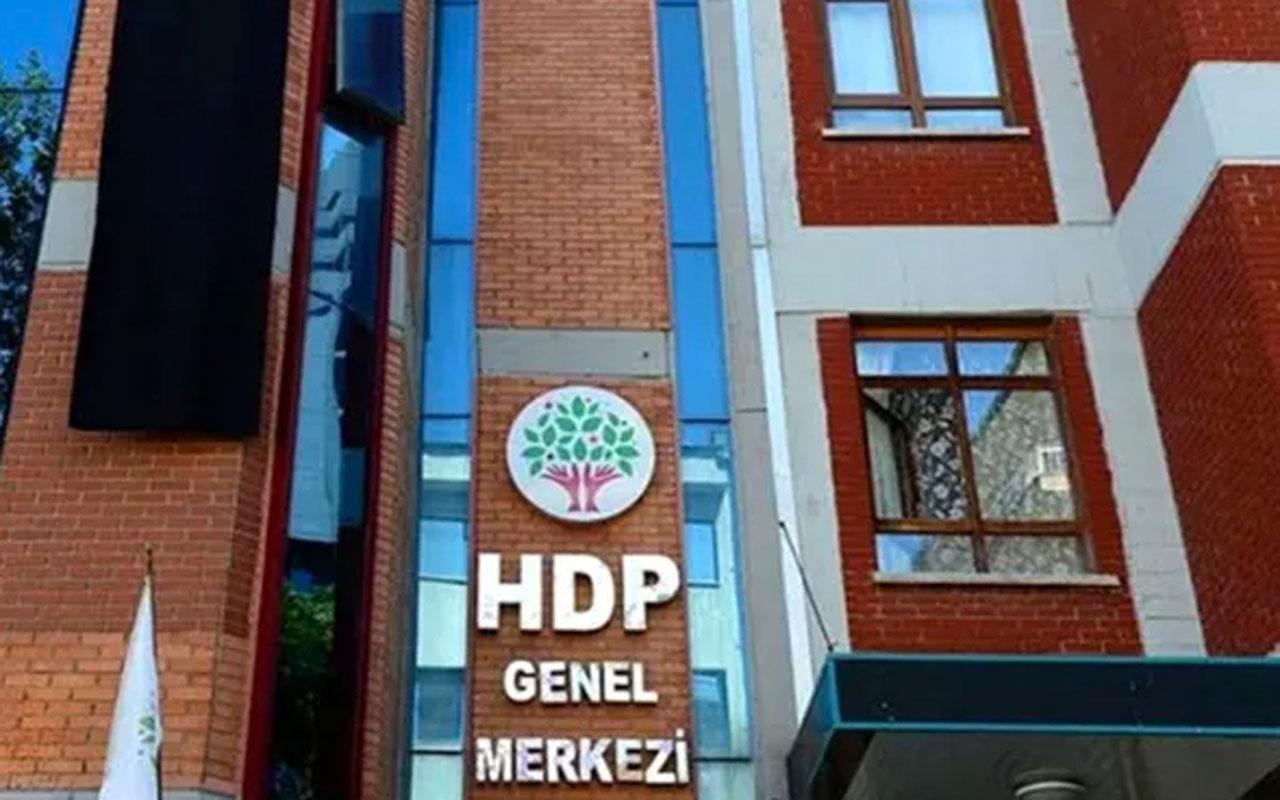 HDP'li 5 yöneticiye 'taciz' soruşturması! Parti üyesi kadın şikayetçi oldu