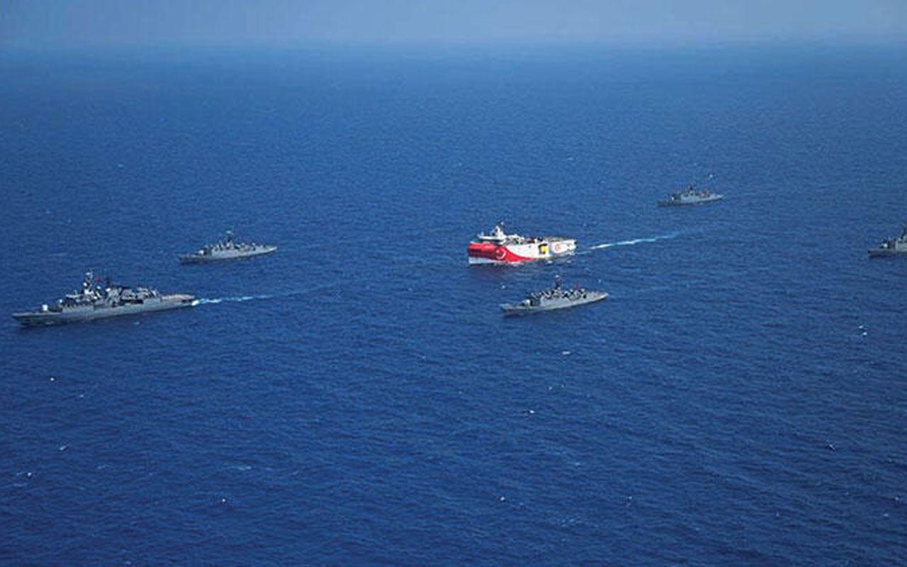 Doğu Akdeniz'de tansiyon yükseliyor! Yunan basını: Jetler kalkışa hazır