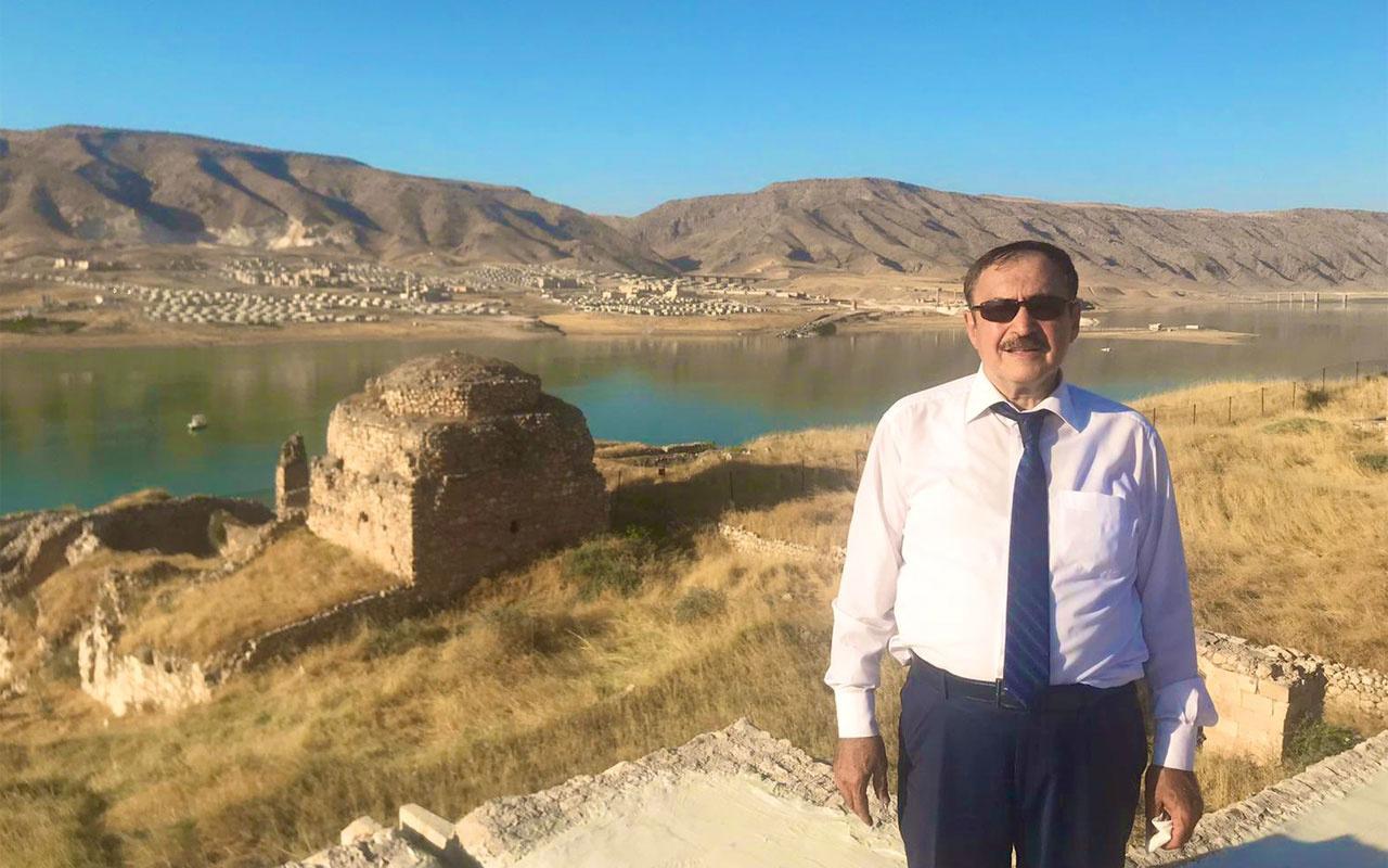 Hasankeyf'i yok etti denilen baraja ismi verilen Veysel Eroğlu'ndan konuşulacak tweet