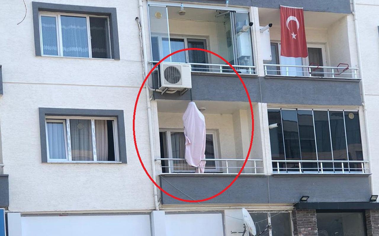 Bursa'da korkunç olay! Evinin balkonunda asılı halde ölü bulundu