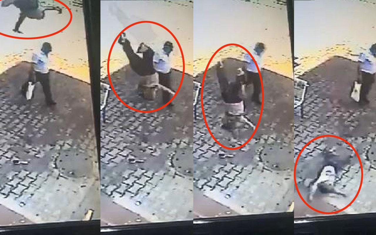 Esenyurt'ta feci olay: 5 yaşındaki çocuk 4'üncü kattan böyle düştü
