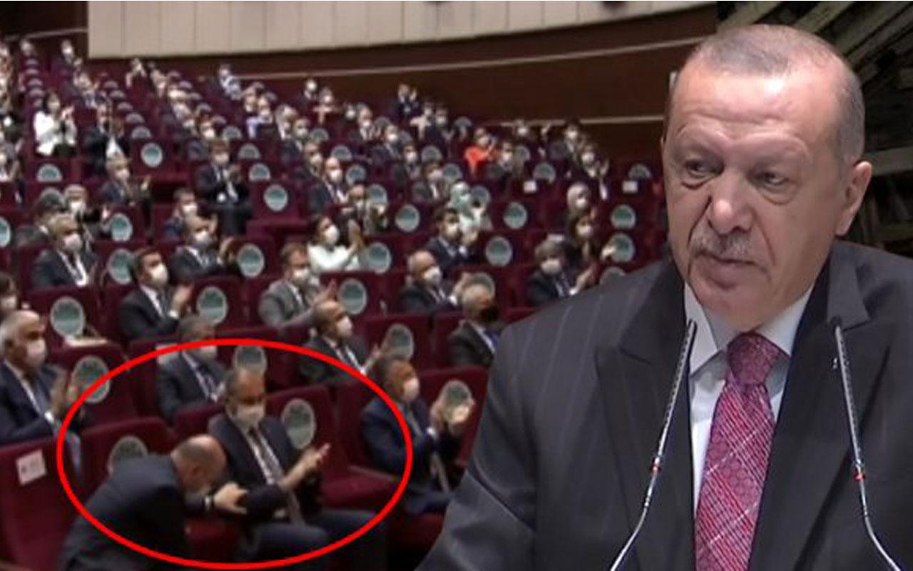 Bakan Süleyman Soylu Erdoğan'ın Ayasofya ile ilgili sözlerini bütün salona ayakta alkışlattı