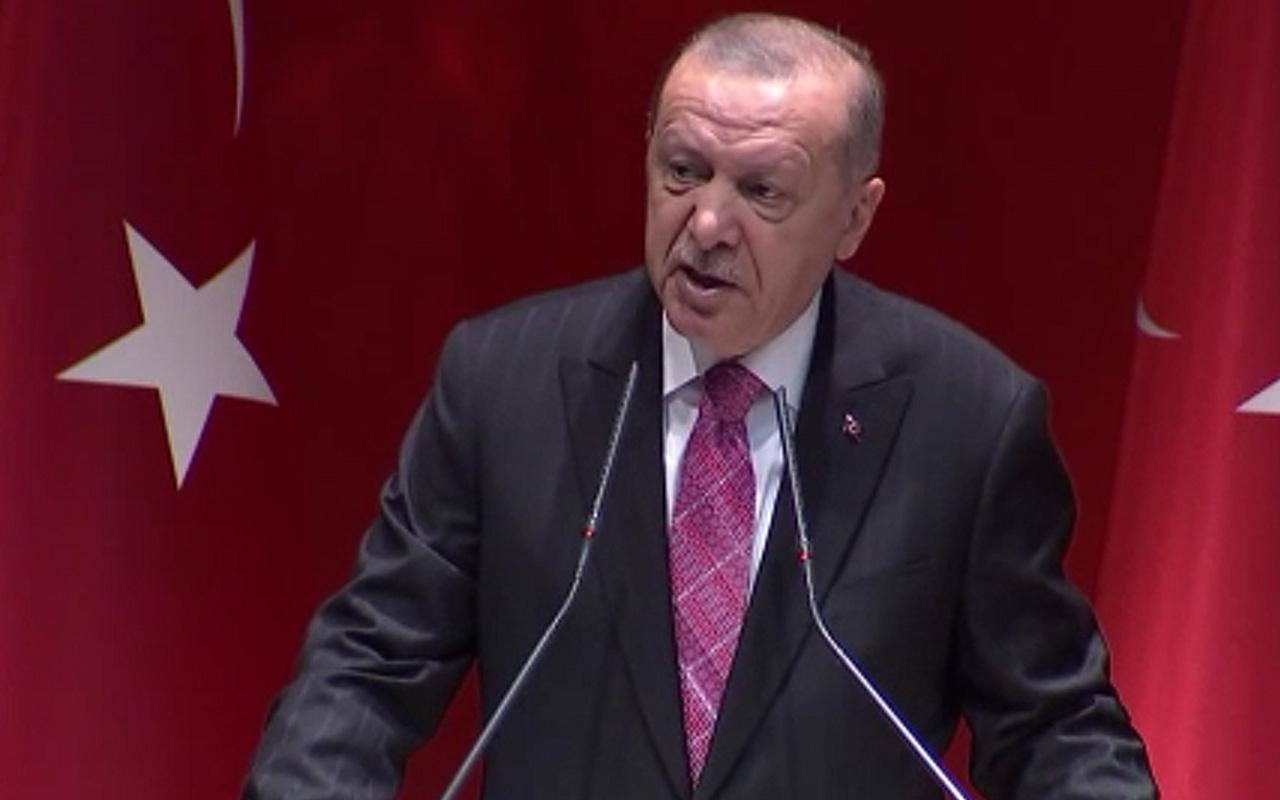 Cumhurbaşkanı Erdoğan açık net konuştu hakkımızı yedirmeyiz