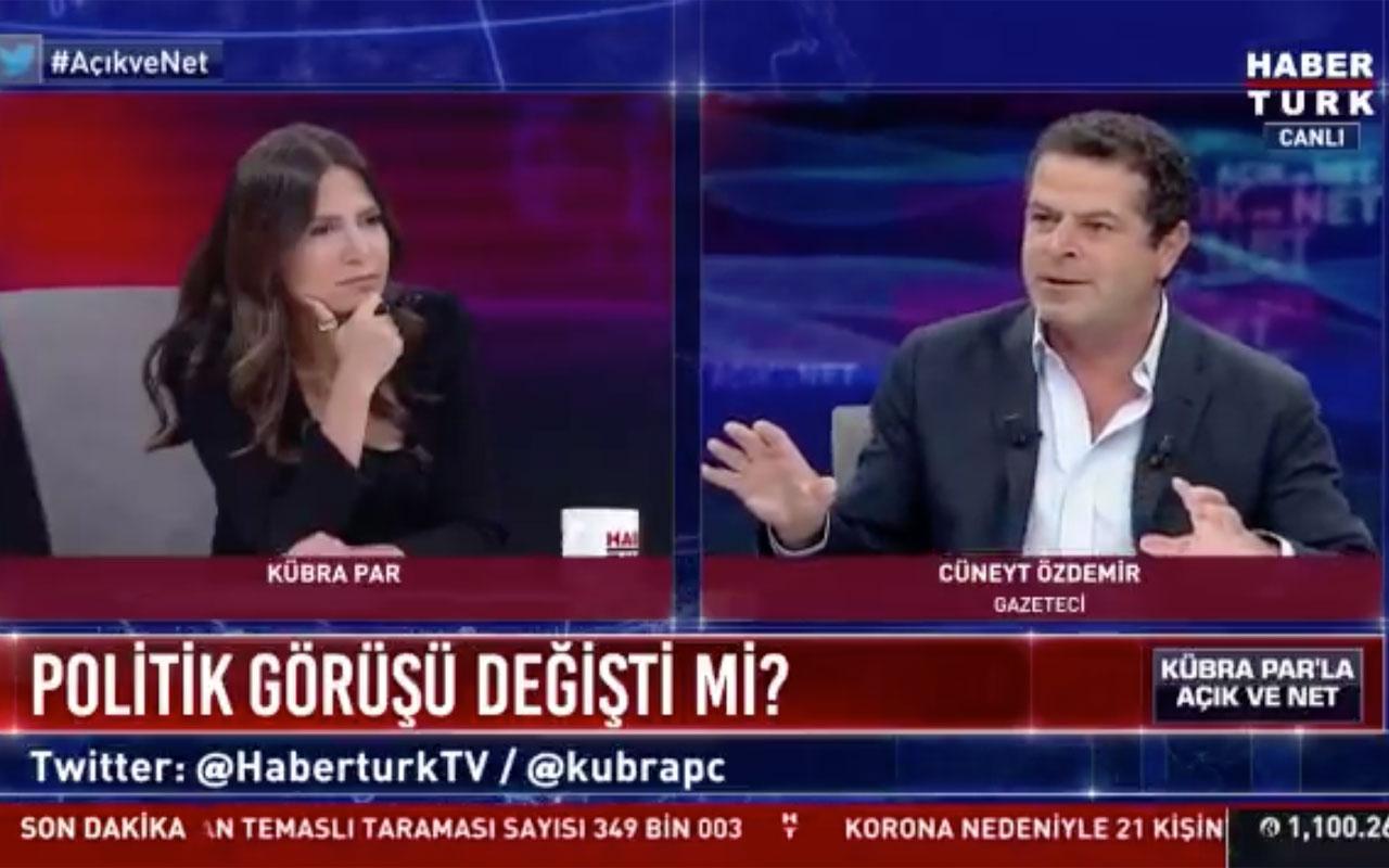 Cüneyt Özdemir AK Parti yandaşı mı? Habertürk'teki yanıtı gündem oldu