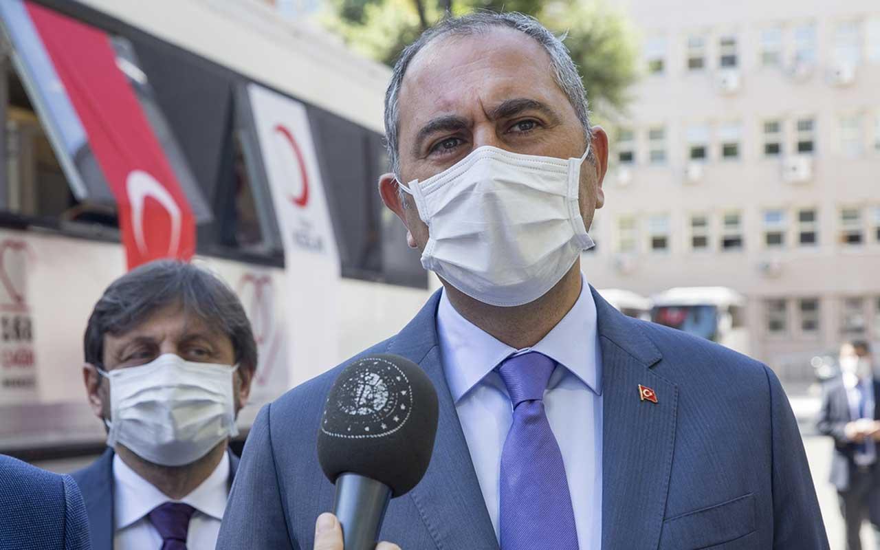 Adalet Bakanı Abdulhamit Gül'den Yunanistan' a Doğu Akdeniz tepkisi