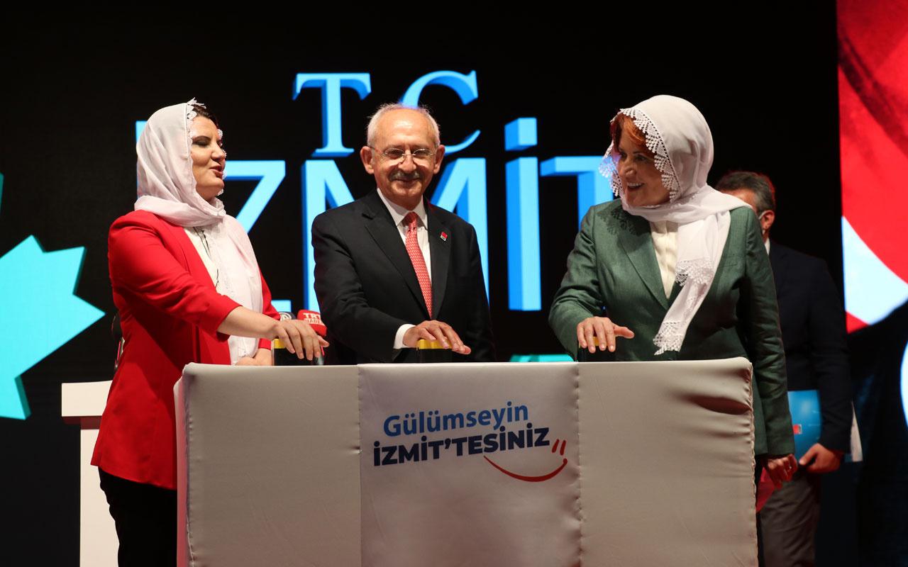 Kemal Kılıçdaroğlu ile Meral Akşener İzmit'te cami temeli attı