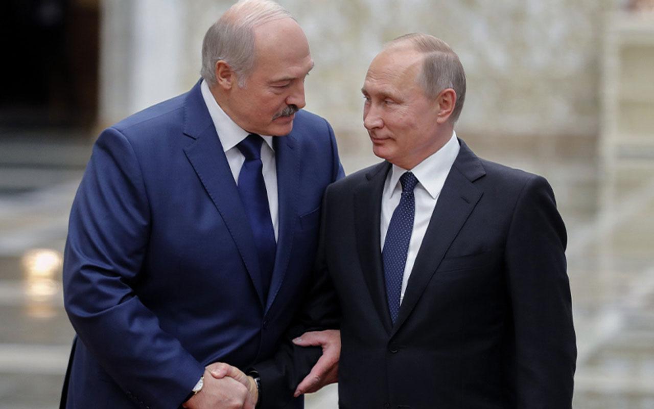 Lukaşenko, Putin ile Belarus'taki son gelişmeleri konuştu