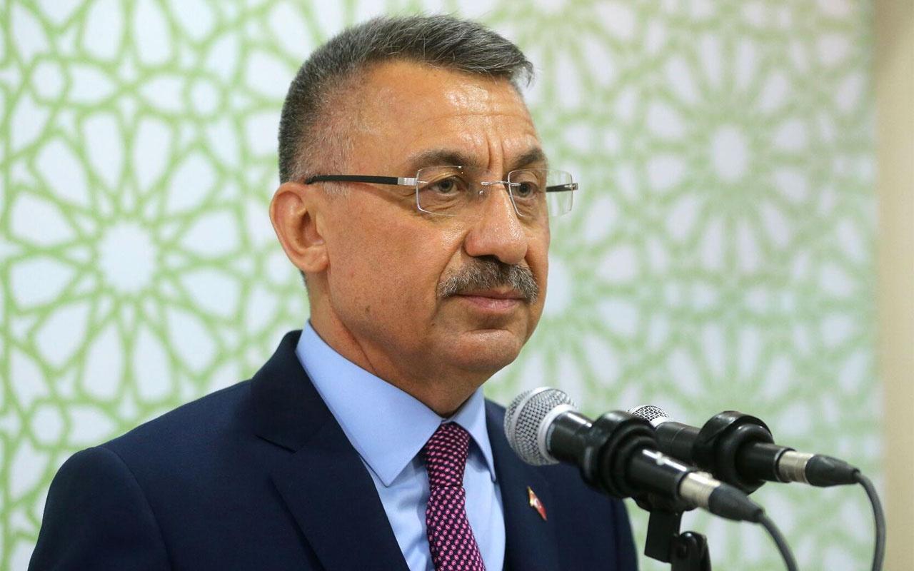 Cumhurbaşkanı Yardımcısı Fuat Oktay sert çıktı: Kabul edilemez boyutlara ulaşmıştır