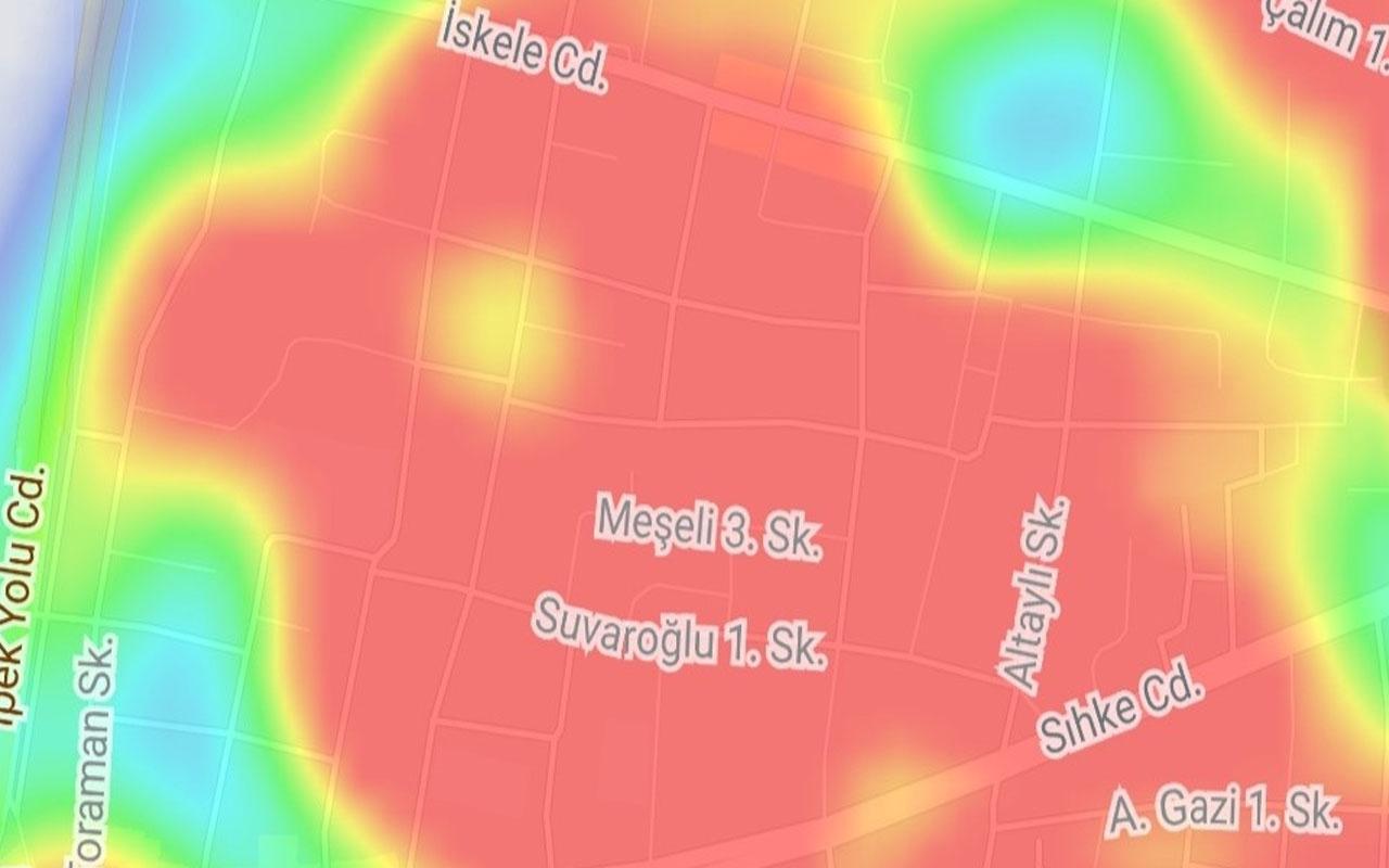 Van'da koronavirüs haritası kırmızı oldu