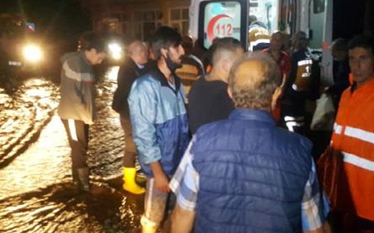 Trabzon Of'ta heyelan can aldı! İçişleri Bakanı Süleyman Soylu olay yerinde