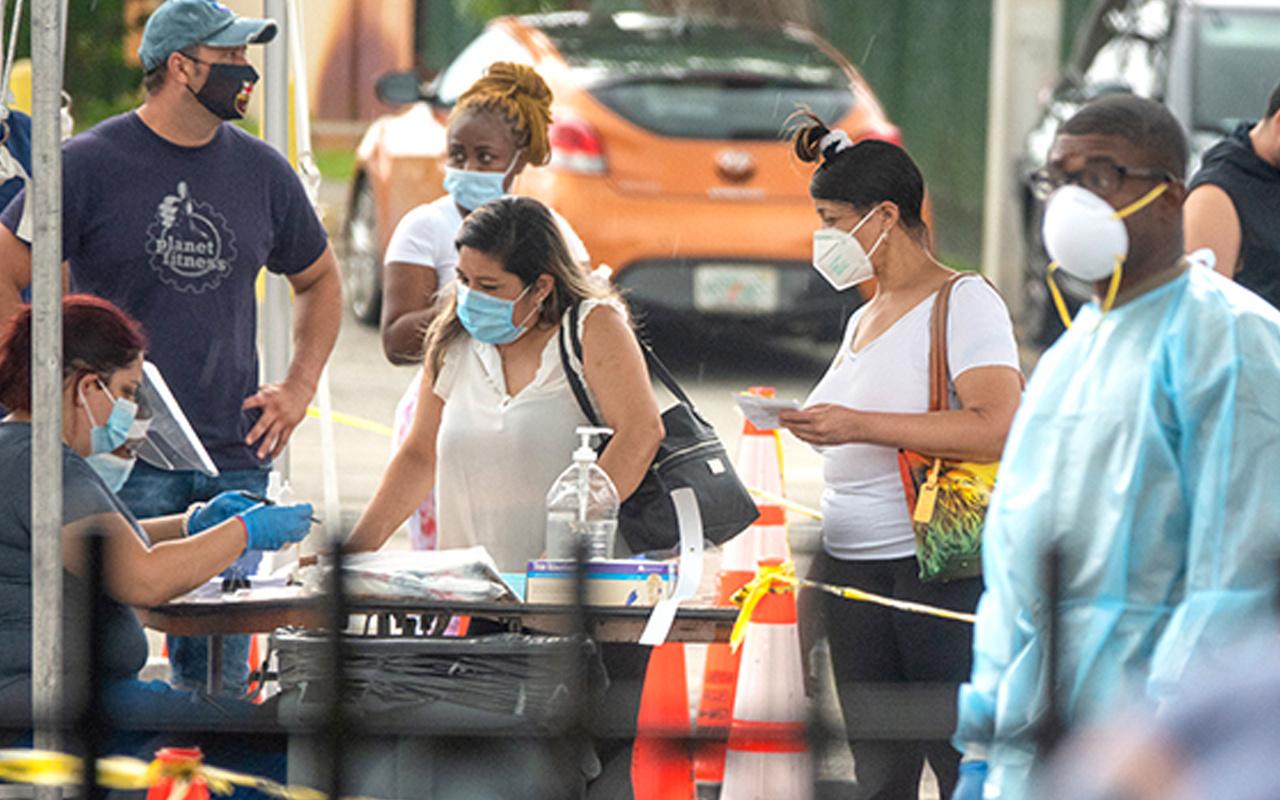 ABD'de koronavirüsten ölenlerin sayısı 172 bin 630 oldu