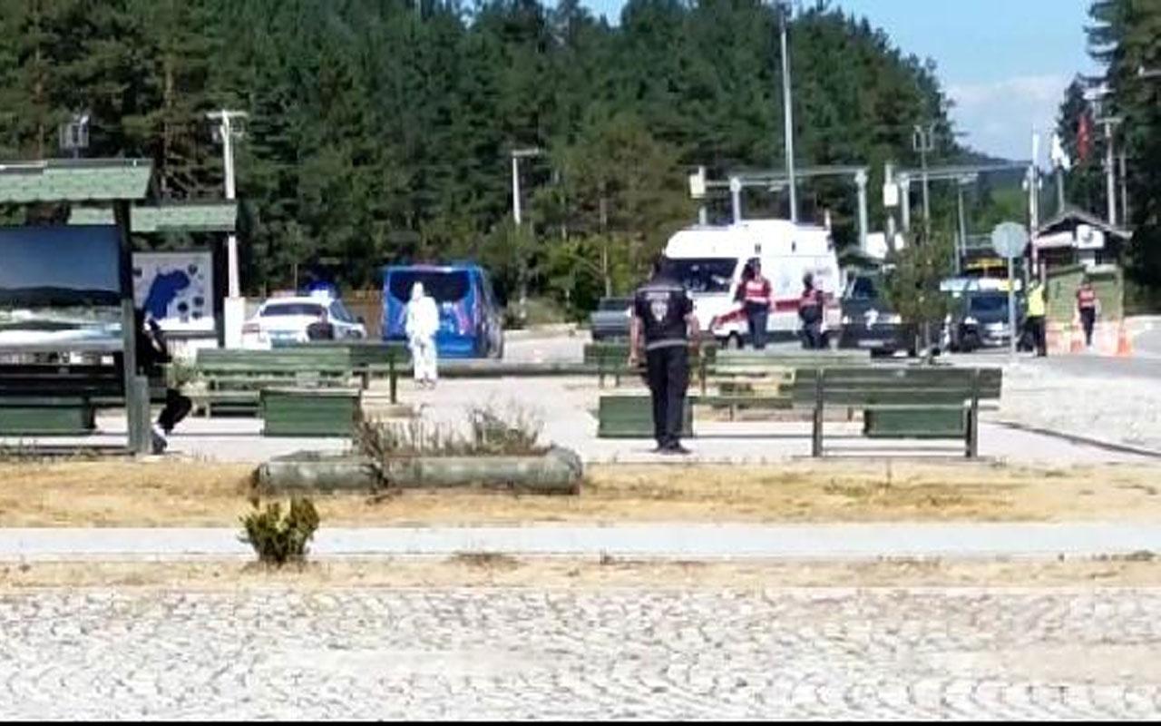Karantinada olması gereken iki kişi Abant Tabiat Parkı'nda yakalandı